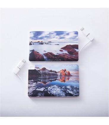 Mini Chargeur Externe Nomade - Design Artistique Edition limitée